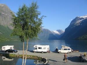 Sande Camping Loen 2009