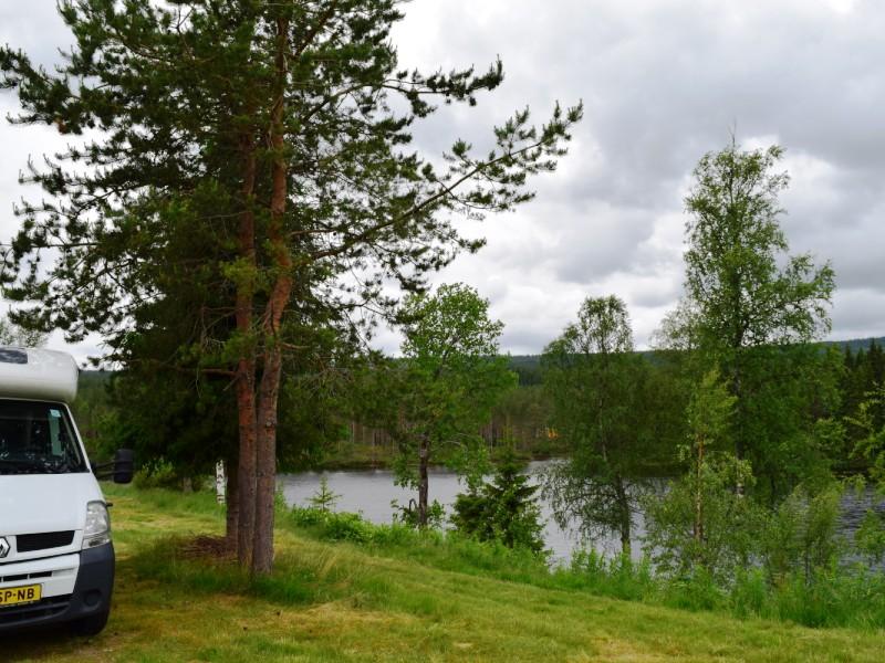 kampeerplek Trysil Hyttegrend 2016