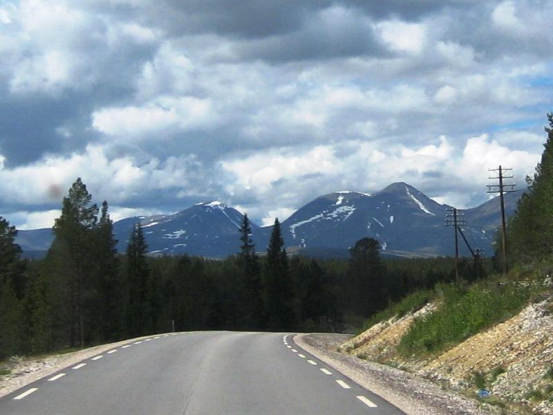 onderweg naar Engerdal 2016
