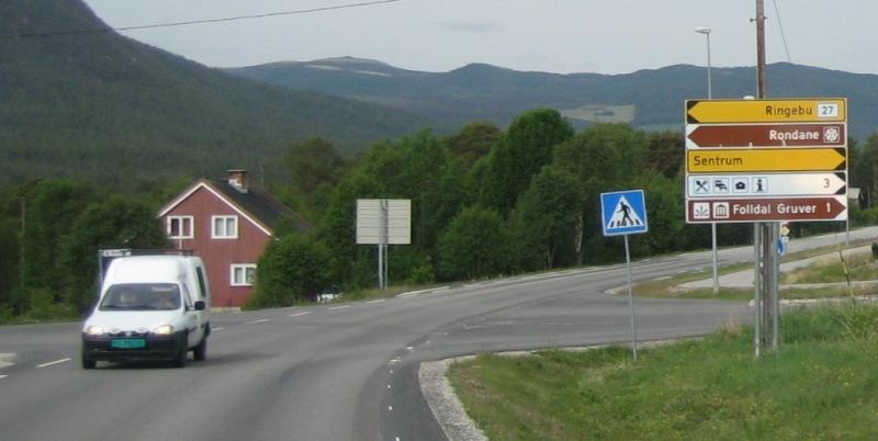 onderweg van Grimsbu naar Hjerkinn (E6) 2016 2