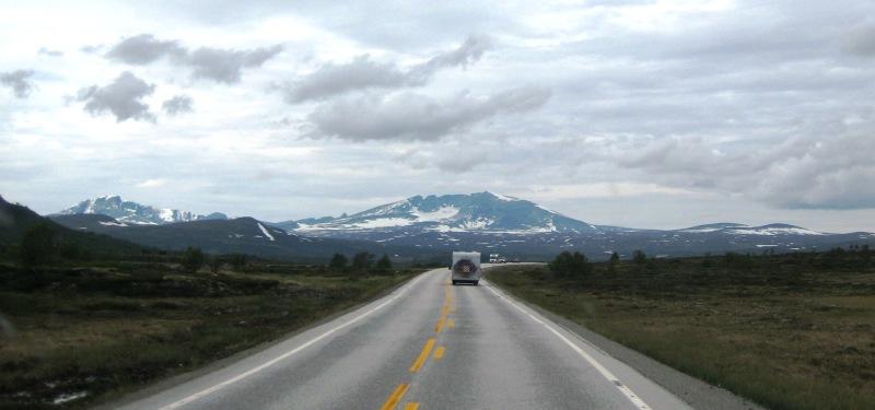 onderweg van Hjerkinn naar Oppdal E6 2016 1