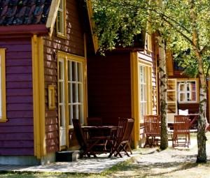 Laerdal Sognefjord Sogn og Fjordane Noorwegen Hytter 1