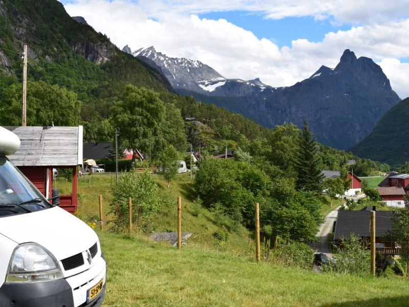 Mjelva Camping Andalsnes 2016 1