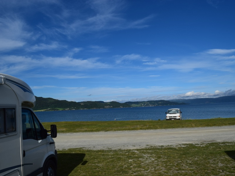 Oysand Camping Melhus bij Trondheim 2016 1