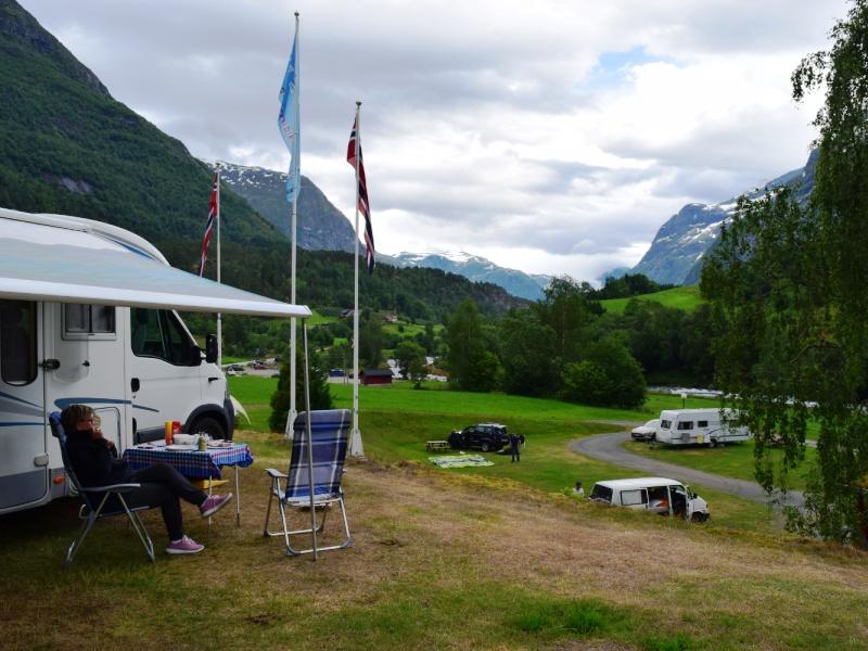 Tjugen Camping Loen 2016 1