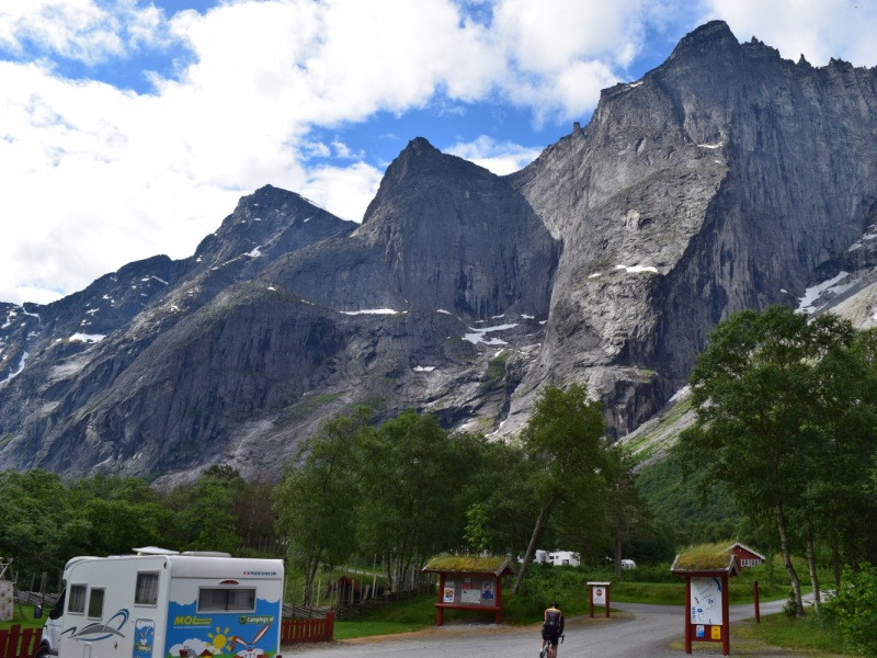 Trollveggen Camping Andalsnes 2016 1