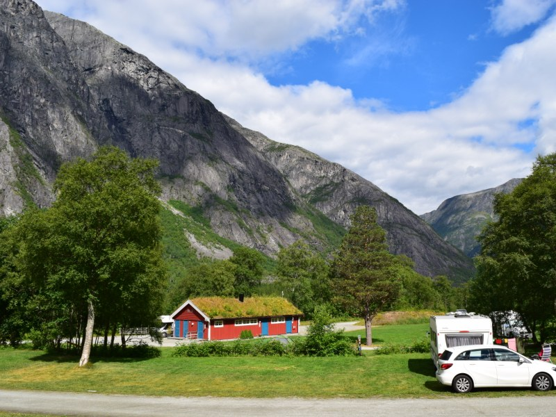 Trollveggen Camping Andalsnes 2016 2