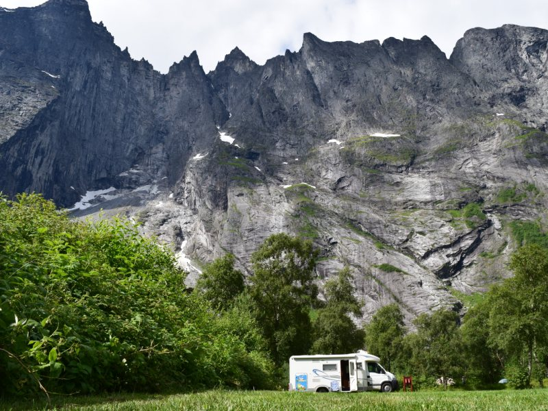 Trollveggen Camping Andalsnes 2016 3