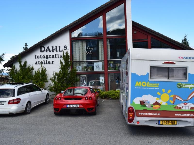 Vikhammer Camping bij Trondheim 2016 2
