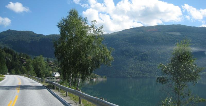 onderweg van Sogndal naar Marifjora 2016