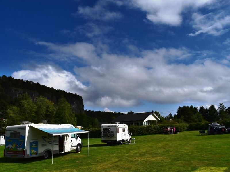 Rognstranda Camping Kampeerplaats 2016