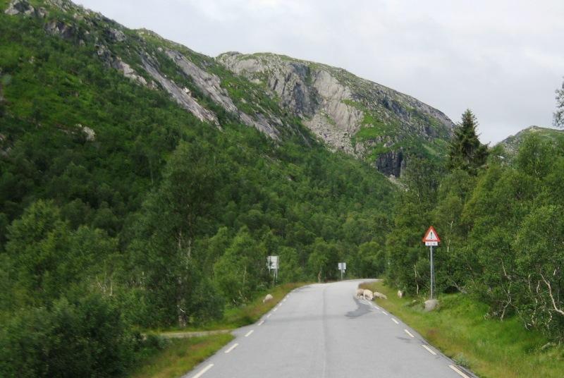 onderweg van Dalen naar Byglandsfjord 2016 1